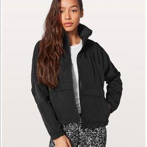 Lululemon Effortless Jacket Black Glyde